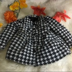Healthtex Houndstooth Toddlers Coat